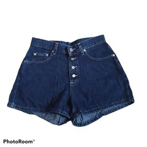 Lee Boy Cut Button Fly Highwaisted Shorts